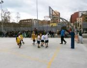 Imatge nens jugant a bàsquet. Font: basquetcatala.cat