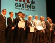 Foto de grup dels premiats de l'edició 2013