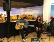 Concert a la primera edició de la Nit del Pessebre. Font: Federació Catalana de Pessebristes
