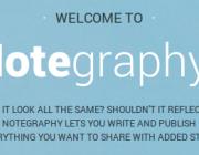 Notegraphy, com escriure eslògans visualment bonics