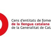 Logo del Cens d'entitats de foment de la llengua catalana