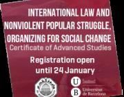 Dret internacional i transformació social no violenta. Organitzant el canvi