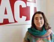 Clara Calderó, Àrea Europa de NOVACT Font: Marta Rius