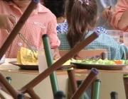 Imatge d'un menjador escolar. Font: web canalblau.cat