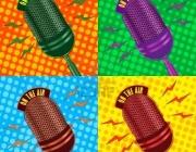 Micròfons. Imatge de la plana web de l'Observatori Cultural del Gènere