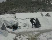 Situació als camps de refugiats de Grècia. Font: City Plaza Squat, Twitter