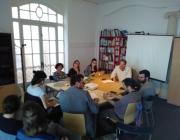 Reunió del grup impulsor de l'OPEV-Catalunya.