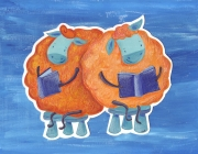 Ovelles llegint - Noe Bofarull
