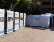 Exposició 'Ser refugiat'