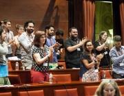 Comissió de Justícia i Drets Humans del Parlament de Catalunya. Font: Victor Serri - La Directa