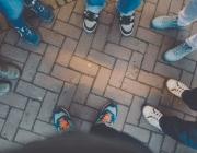 participació, cames, rotllana