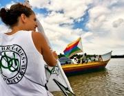 Activista de PBI, guanyadora del Premi. Font: PBI Colòmbia