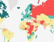 Gràfic de països al portal Vision of Humanity. Font: Visionofhumanity
