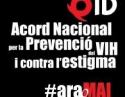 Un any de l'Acord Nacional per a fer front a la SIDA a Catalunya