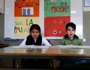 Alumnes de l'Escola Santa Eugènia, de Girona - Foto: Coordinadora d'ONG Solidàries