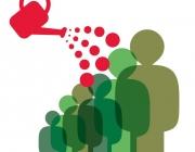 Persones que es reguen. Font: pscohesiosocial.blogspot.cat