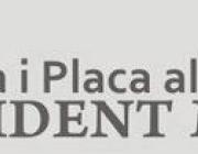 Placa al treball President Macià