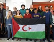La Plataforma es va presentar el 27 de febrer a les instal·lacions de LaFede.cat. Font: Plataforma pel Sàhara Occidental