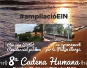 8º cadena humana per la Platja Llarga de Tarragona (imatge: platjallargatarragona.cat)