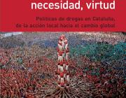 Portada de l'informe sobre política de drogues a Catalunya