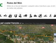 Wikiloc, per a explorar rutes