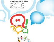 Cartell del Dia Mundial de la Llibertat de Premsa, autoria UNESCO/Marc James