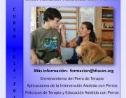Curs d'Intervenció Assistida amb Gossos