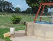 Pou d'aigua al poblat Sare Sambayel del Senegal. Font: Facebook