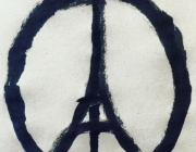 Símbol del Pray for Paris. Font: Jean Jullien
