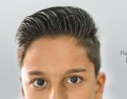"""Imatge de la campanya """"La pregunta de Samuel"""", on podem veure la cara del noi"""
