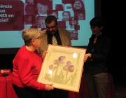 Concepció Requena recull el premi Aspàcia, imatge de DDiPAS