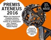 Premis Ateneus 2016