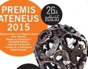 Premis Ateneus 2015