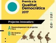 1a edició dels Premis a la Qualitat Democràtica 2017