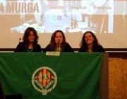Foto de la presentació del documental sobre La Murga. Escoltes Catalans
