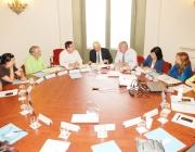 Reunió prèvia a la constitució del Consell de la Cultura Popular i Tradicional