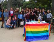 Foto de grup de la promira edició del concurs. Autora: Laura Cañadas