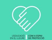 'L'educació en el lleure com a espai de protecció'. Font: Generalitat de Catalunya