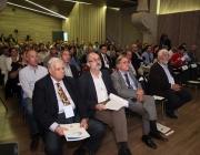 El públic del Congrés de l'Esport Local al Recinte Modernista de Sant Pau