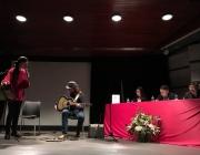 Pili Cugat i Carlos Lupprian amenitzen l'acte