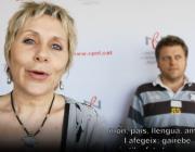 Fotograma del vídeo del Serveis Centrals del CPNL pel Dia de la Poesia