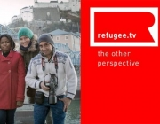 Banner de Refugee.tv, Font: Refugee.tv