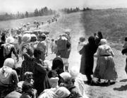 Persones refugiades. Font: Blog el anillo solidario.