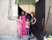 Família de refugiades sirianes. Font: UNHCR/ACNUR Américas