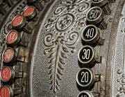 Caixa registradora vintage. Font: web Pixabay