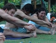 Relaxació. Font: Ecuador Yoga Festival (Flickr)