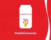 Logotip de la campanya #repteCocacola de Plataforma per la Llengua