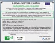 Cartell de la III Jornada Europea de Resiliència