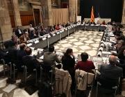 Fotografia de la reunió del 3 de maig. Font: web tercersector.cat