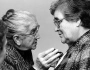 Angeleta Ferré i Marta Mata / Font: Rosa Sensat